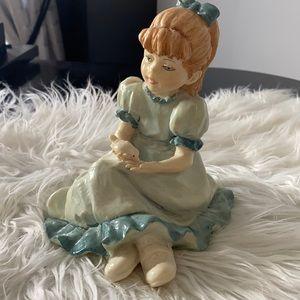 Vittorio Tessaro Young Girl Figurine